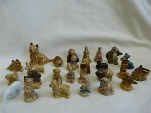 26 x Wade Whimsies Dogs Buffalo Sheep Giraffe Disney Clock Nursery Rhymes