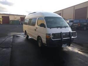 1997 Toyota Hiace Diesel Commuter / Campervan Murwillumbah Tweed Heads Area Preview