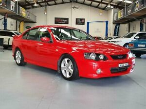 2003 Ford Falcon BA XR8 Red 5 Speed Manual Sedan Seven Hills Blacktown Area Preview