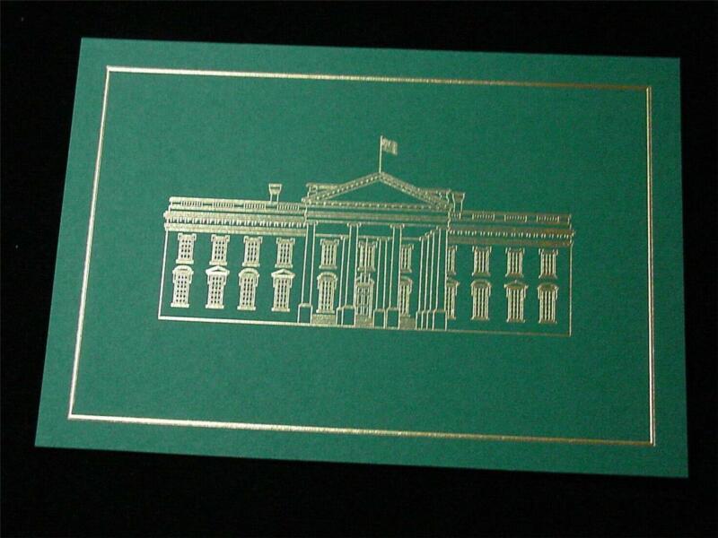 2018 White House Christmas Card President Donald Trump Melania WITH Envelope