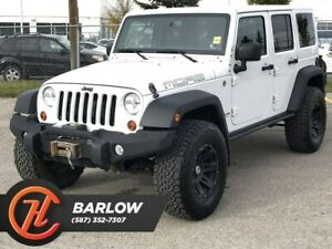 2013 Jeep WRANGLER UNLIMITED Sahara / Leather / Bluetooth