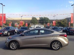 2014 Hyundai Elantra GLS- $111 B/W LOW KMS..ONE OWNER..POWER ROO