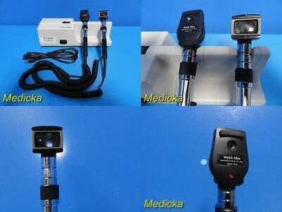 Welch Allyn 767 Diagnostic Set W 11710 Opthalmoscope Head25020 Otoscope 22810