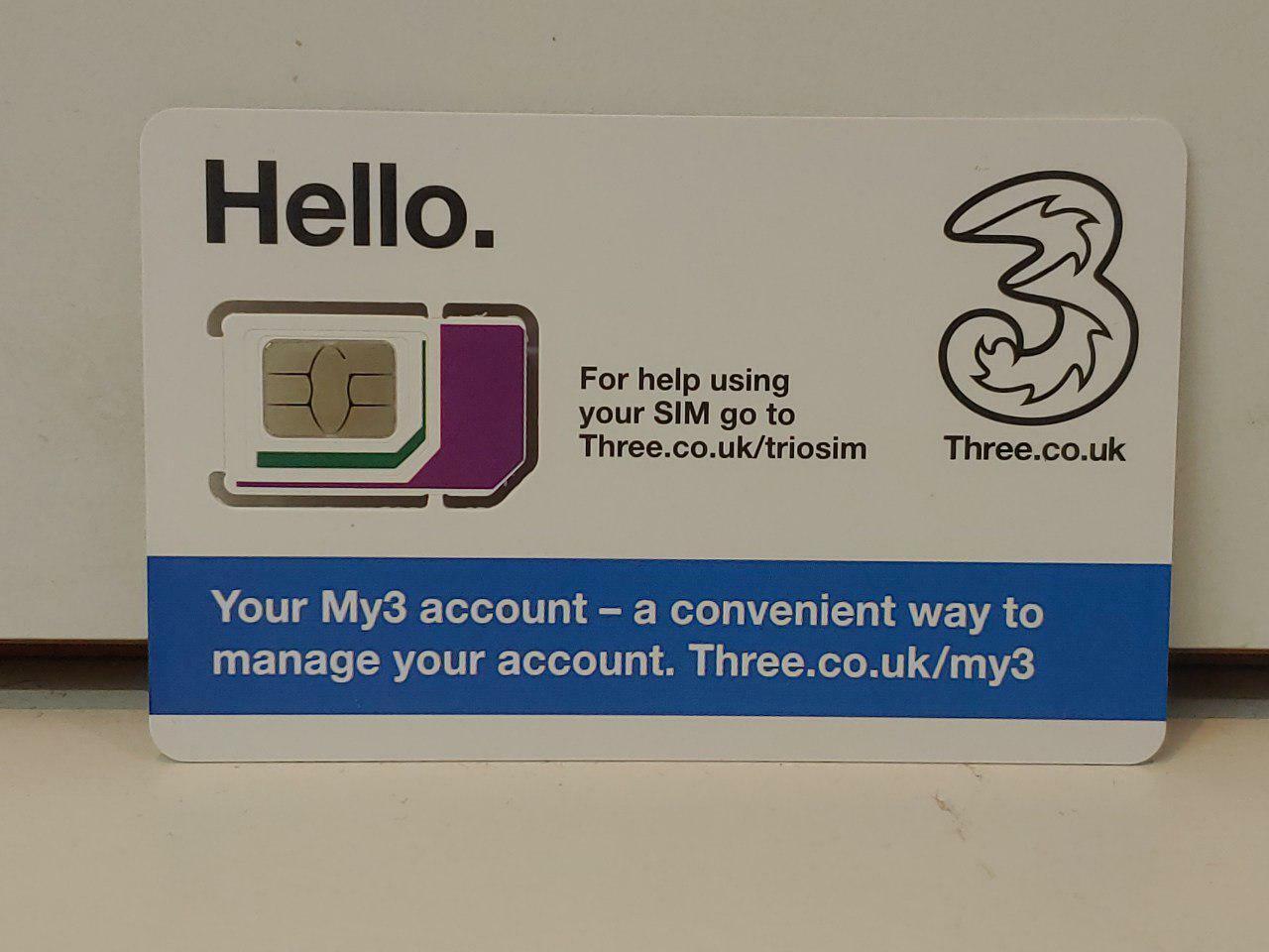 UK Europe 30days Prepaid SIM Card 12GB Unlimited call 71 Cou