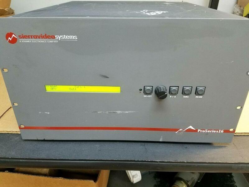 Sierra Video 1616V5  Pro Series 16
