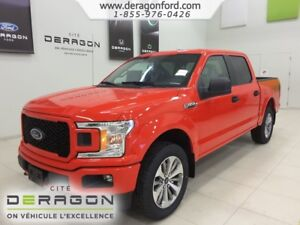 2018 Ford F-150 RABAIS 12000$-STX CREW 4X4 ECOBOOST SYNC3 MAGS 2