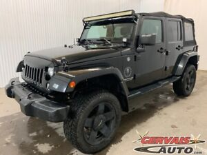 2014 Jeep Wrangler Unlimited Sahara 4X4 GPS MAGS