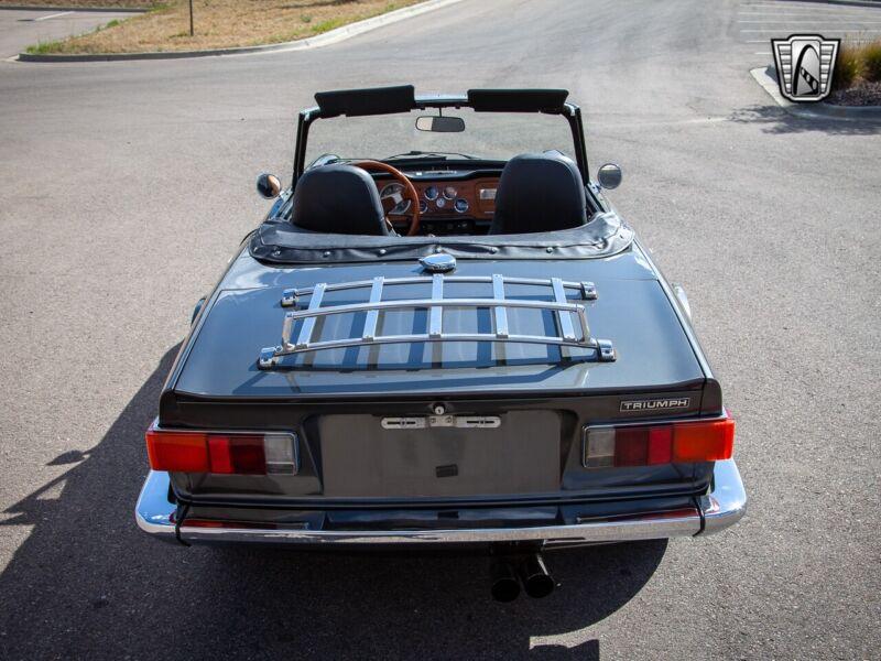 Image 6 Voiture American classic Triumph TR-6 1973