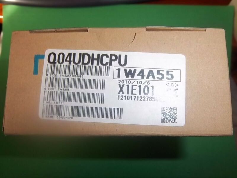 Mitsubishi Q04udhcpu Processor, Unopened,new In Box, Warranty Can Ship Today.