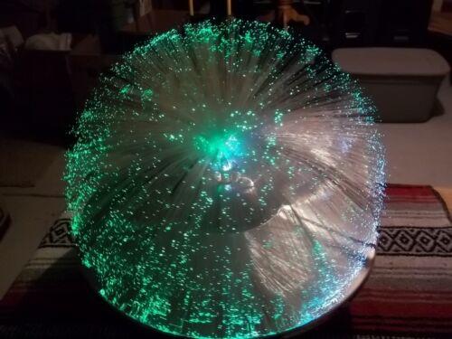 Fantasia Solar 1 Model 5001 Fiber optic lamp. UFO Style. STUNNING! WELL KEPT.
