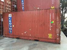 20 FT HIGH CUBE SHIPPING CONTAINERS Brooklyn Brimbank Area Preview