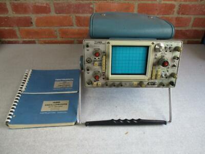 Tektronix 465 Oscilloscope Very Good Condition With Service Manual