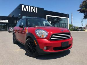 2014 MINI Cooper Countryman STEAL PRICE PANO RED ON BLACK HEATED