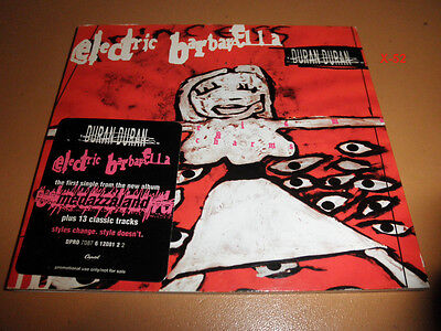DURAN DURAN 15 TRACK hits PROMO CD Electric Barbarella GIRLS ON FILM reflex 007