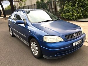 2002 Holden Astra TS Hatchback Auto 5months Rego Low Kms Liverpool Liverpool Area Preview