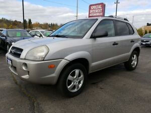 2006 Hyundai Tucson GL CLEAN CAR PROOF !!  LOCAL TRADE !!