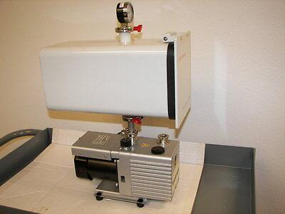 Edwards Plate Degass Pd3 Vacuum Chamber Kf25 Ports Varian Pump 2690 Rpm