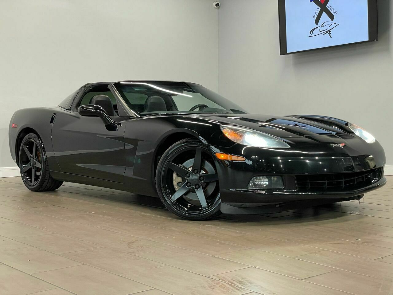 2010 Black Chevrolet Corvette     C6 Corvette Photo 1