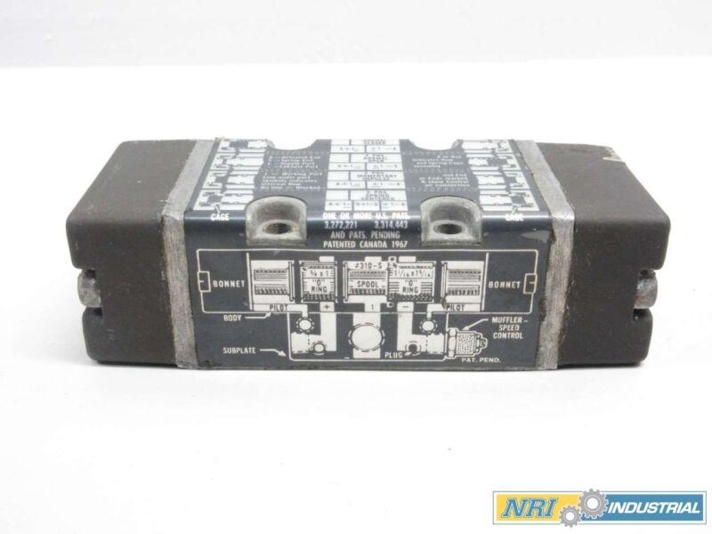 Miller Fluid Power 310 Pneumatic Valve Body Manifold