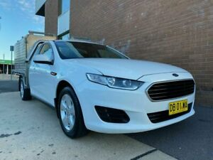 2015 Ford Falcon FG X (LPi) White 6 Speed Automatic Cab Chassis Phillip Woden Valley Preview