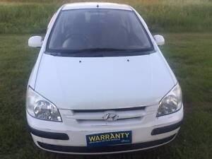 2005 Hyundai Getz Hatchback+RWC +6 months rego+finance Salisbury Brisbane South West Preview