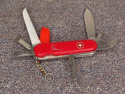 Vintage Wenger Delemont Skier Deluxe, Swiss Army Knife, GOOD Condition