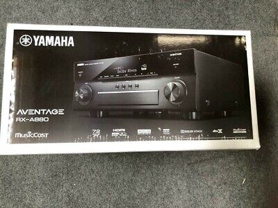 Yamaha AVENTAGE 7.2 Channel Black AV Receiver  MusicCast Brand New Free Shipping comprar usado  Enviando para Brazil