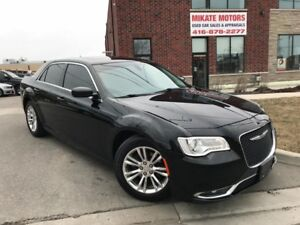 Like New, Fully Loaded 2015 Chrysler 300 Touring Sold Certified