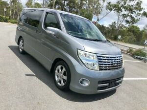 2005 Nissan Elgrand E51 Highway Sta 75Kms Grey 5 Speed Automatic Wagon Arundel Gold Coast City Preview