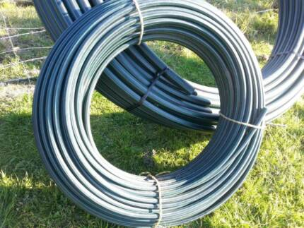 Poly Pipe 25mm Blue Line, 25mm green line 50 mm high pressure Forster Great Lakes Area Preview