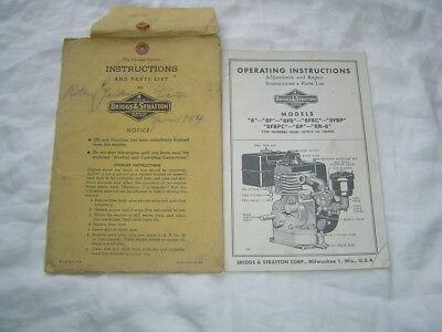 1983-1984 BRIGGS /& STRATTON SMALL ENGINE SERVICE MANUAL