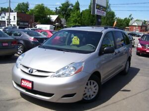 2008 Toyota Sienna CE,8 PASSENGER,ONE OWNER