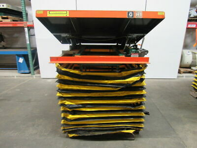 Southworth Lift Tilt Table 3000lb 12-36travel 58x48 Top 115v Single Phase