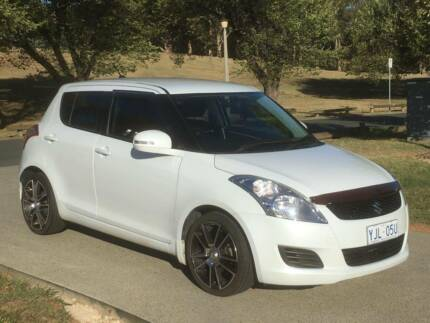 SUZUKI SWIFT GL 2011 AUTO WITH MAG WHEELS