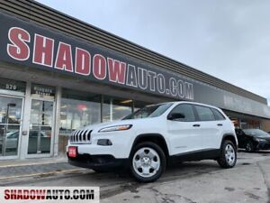 2016 Jeep Cherokee Sport -4CYL -B/U CAM -BLUETOOTH -HEATED SEATS
