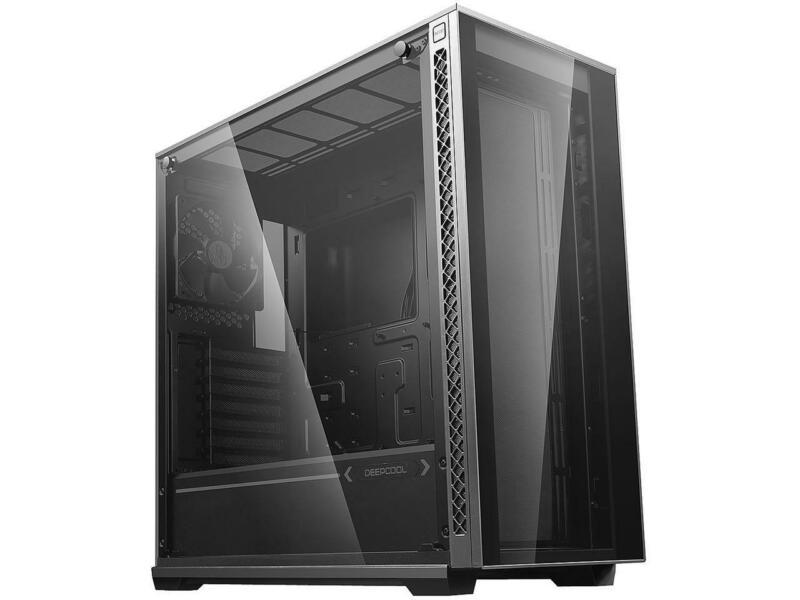 DEEPCOOL MATREXX 70 Mid-Tower Case Modular Design Full-size Tempered Glass GPU V