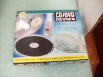 CD/DVD Disc Repair Kit by Ideas In Motion NEW