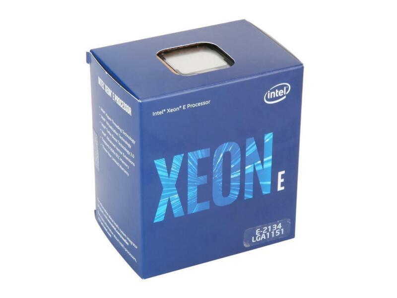 Intel Xeon E-2134 Coffee Lake 3.5 Ghz Lga 1151 71w Bx80684e2134 Server Processor