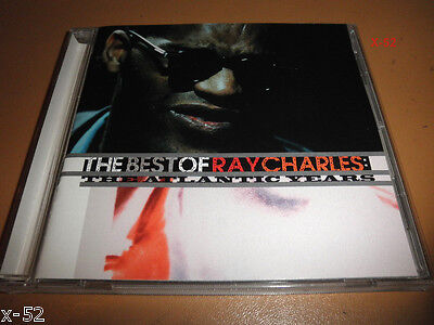 BEST of RAY CHARLES cd ATLANTIC YEARS 20 hits BLACKJACK lonely avenue COME