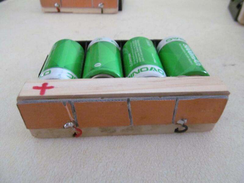 1 Metal detector battery pack case holder for older Whites detectors