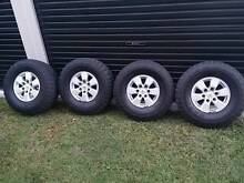 """Toyota Hilux 32"""" sr5 wheels and tyres Alexandra Hills Redland Area Preview"""