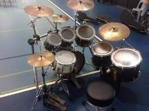 Yamaha Maple 7 Piece Drum Kit Murrumba Downs Pine Rivers Area Preview