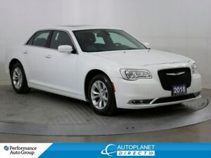2018 Chrysler 300 Touring, Navi, Pano Roof, Android Auto, Leathe