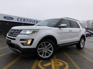 2016 Ford Explorer Limited 4WD|DUAL PANEL MOONROOF|HEATED SEA...