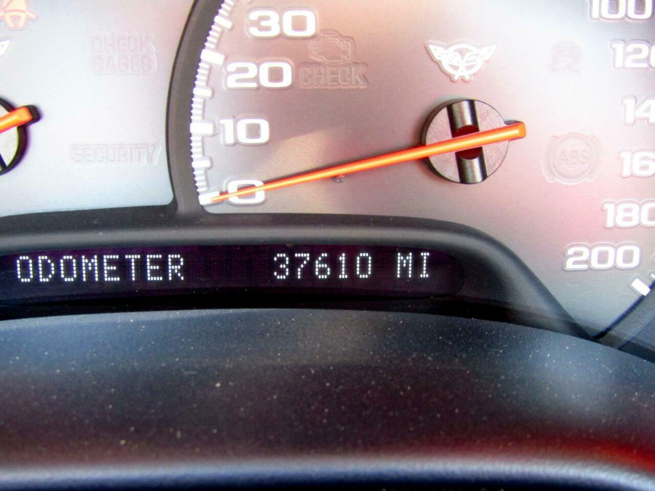 2004 Red Chevrolet Corvette Convertible  | C5 Corvette Photo 4