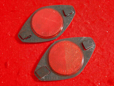 Vintage EX CEL BIKE BICYCLE WHEEL REFLECTOR RED AMBER /& CLEAR kit NOS