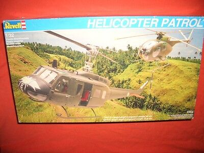 1/32 Revell 4454, HELICOPTER PATROL UH-1D & OH-6A  RAR!