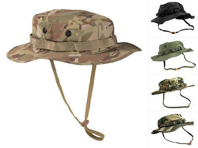 Mil-Tec US GI Boonie Hat Trilaminat Buschhut Tropenhut Rangerhut Hut Mütze S-XXL (Ranger Hut)