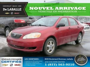 2008 Toyota Corolla LE / AUTOMATIQUE / AIR / 1 SEUL PROPRIO Low