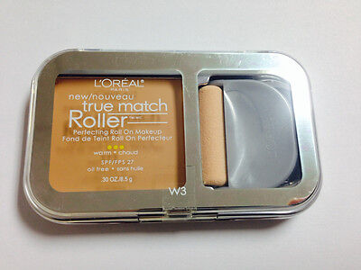 L'Oreal true match roller perfecting roll on makeup w4 Natural Beige spf